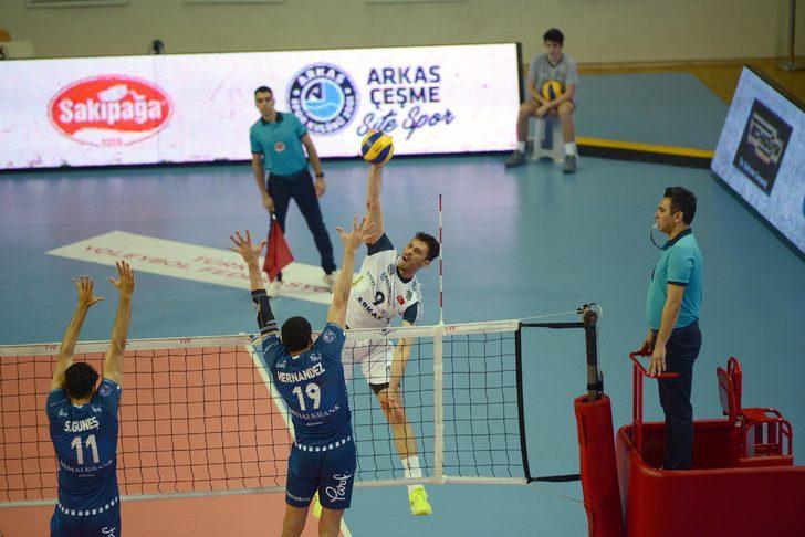 Arkasspor - Halkbank: 2-3