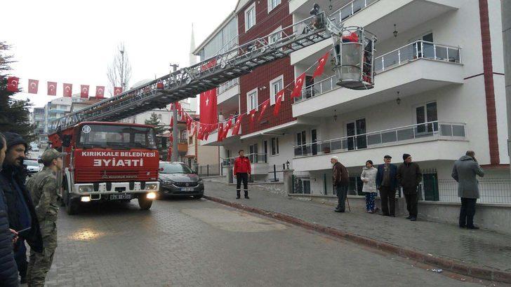 Kırıkkale'ye helikopter şehidi üsteğmenin acı haberi ulaştı