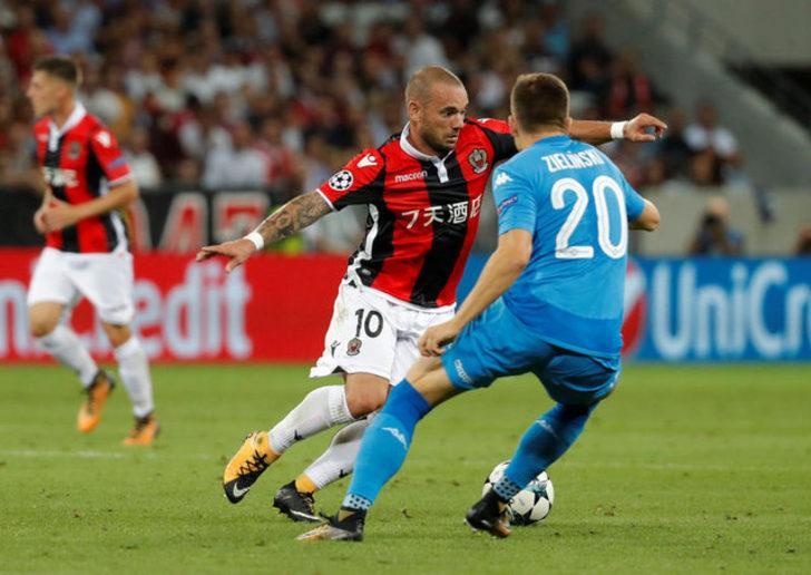 Wesley Sneijder - Yaş: 33 - Takımı: Al Gharafa(Katar)