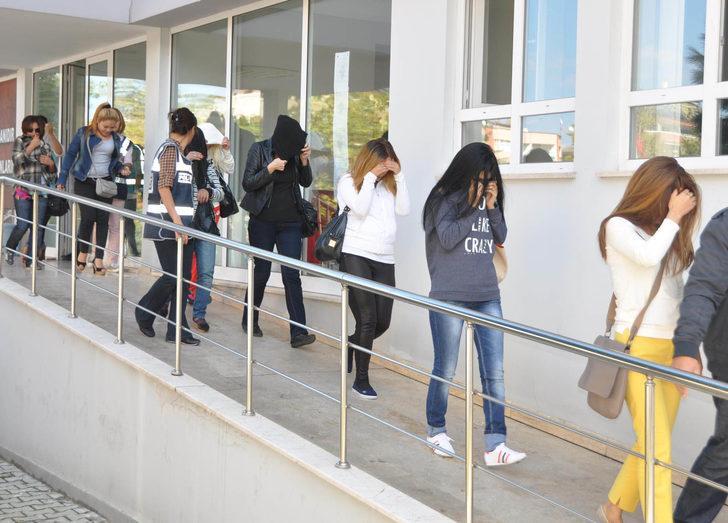 Trabzon'da fuhuş operasyonu: 60 gözaltı
