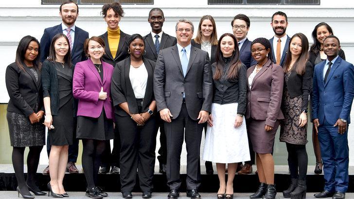 """Dünya Ticaret Örgütü """"Genç Profesyoneller"""" eğitimi başladı"""