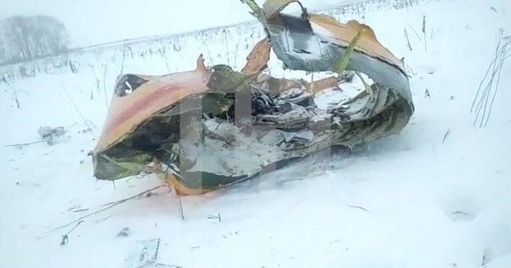 Son dakika! Moskova'da Rus yolcu uçağı düştü
