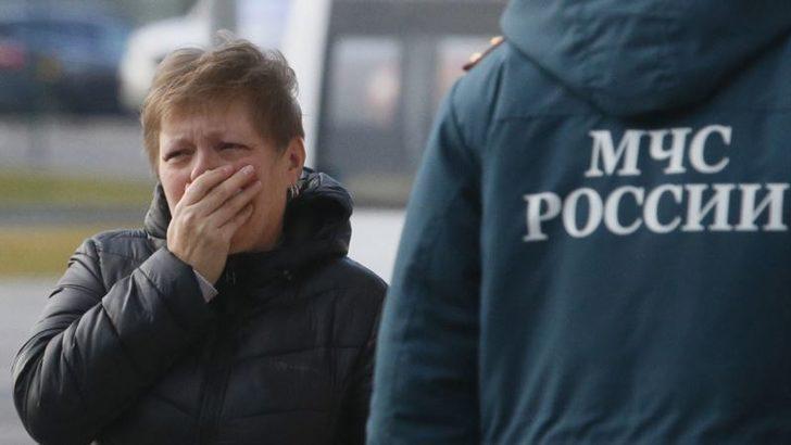 Rus Yolcu Uçağı Düştü