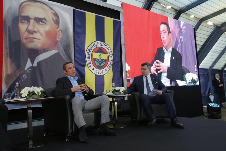 Ali Koç, Büyük Kulüp'te Fenerbahçelilerle buluştu