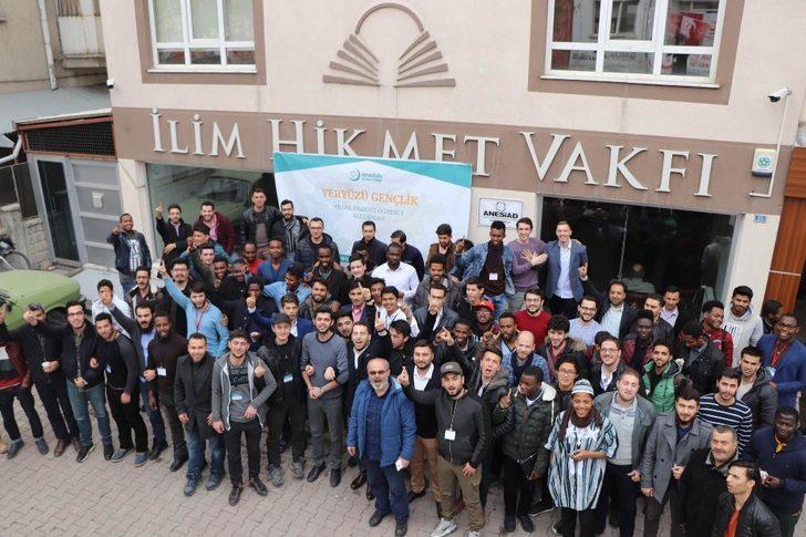 İlim Hikmet Vakfı  22 farklı ülkeden 100 yabancı öğrenciyi ağırladı