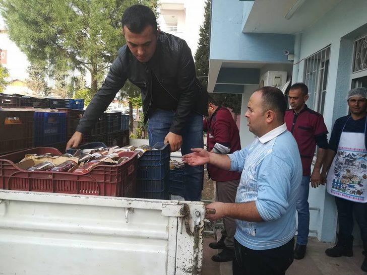 Yardımlar Mehmetçiğe ulaştı