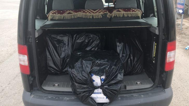 Van'da 12 bin paket kaçak sigara ele geçirildi