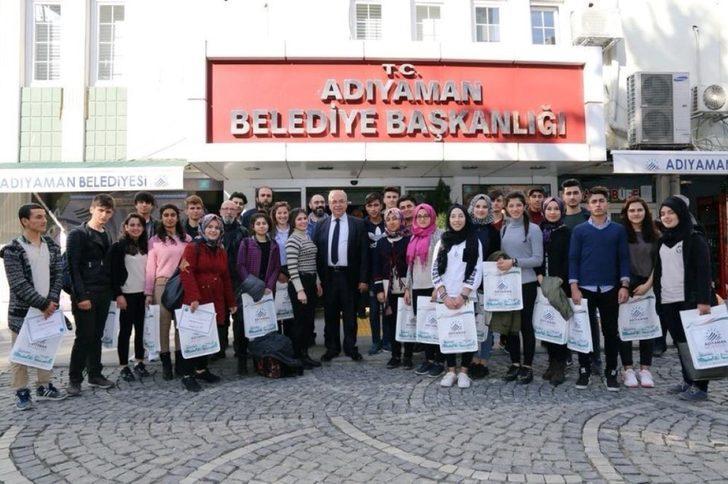 Başkan Kutlu'dan, gençlere sertifika
