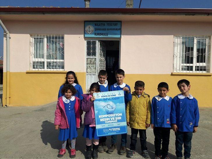 Öğrenciler su tasarrufunu anlatacak