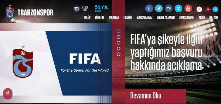 FIFA'dan Trabzonspor'a 'şike başvurusu' yanıtı