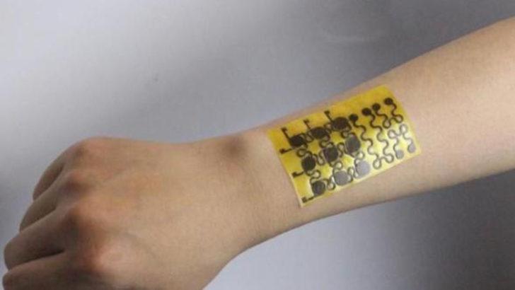 Kendi kendini onarabilen ve geri dönüştürülebilen 'elektronik deri' üretildi
