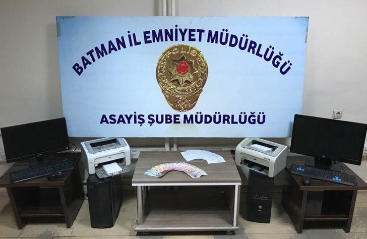 Batman'da bahis operasyonu