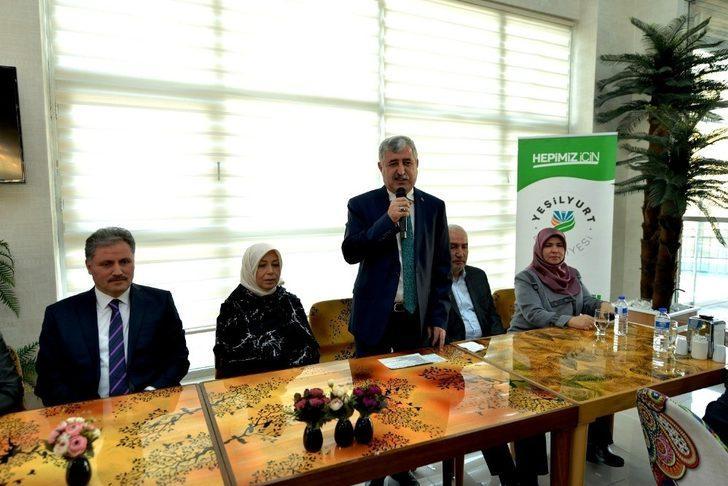 Yeşilyurt Belediyesinin projeleri anlatıldı