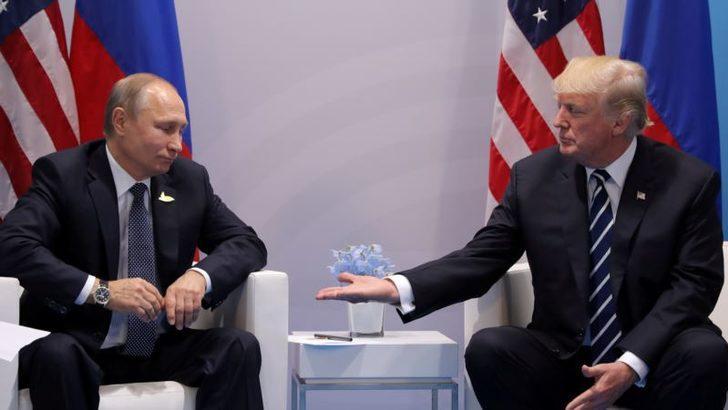Trump ve Putin Telefonda Ortadoğu Barış Sürecini Görüştü