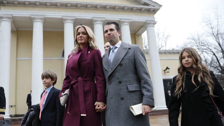 Donald Trump Jr'ın Eşi Hastaneye Kaldırıldı