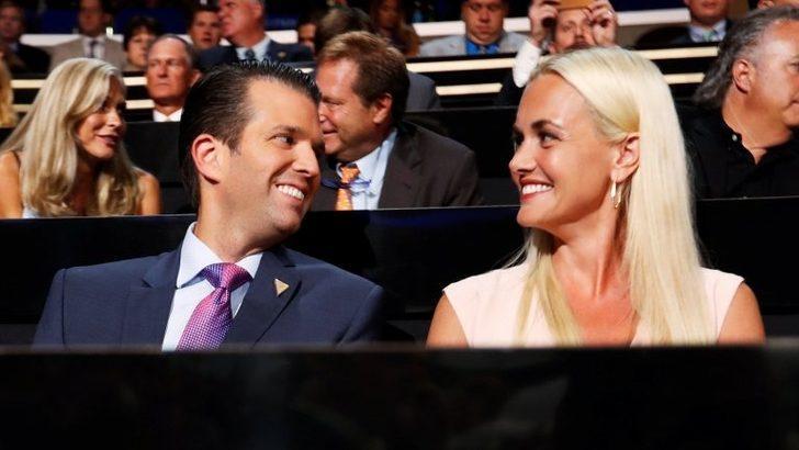 Donald Trump Jr adına gelen zarfı açan eşi Vanessa hastaneye kaldırıldı