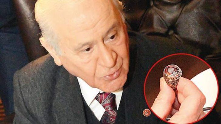 Bahçeli'nin 'Afrin' yüzüğü