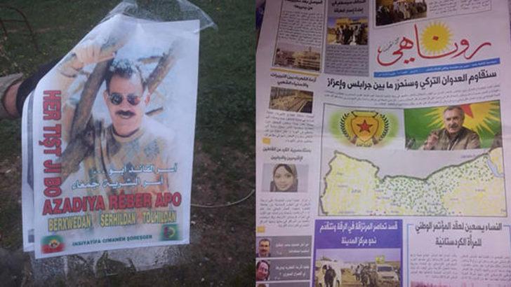 Abdullah Ağar'dan olay yaratacak Afrin paylaşımı! İşte terör ittifakını gözler önüne seren fotoğraf...