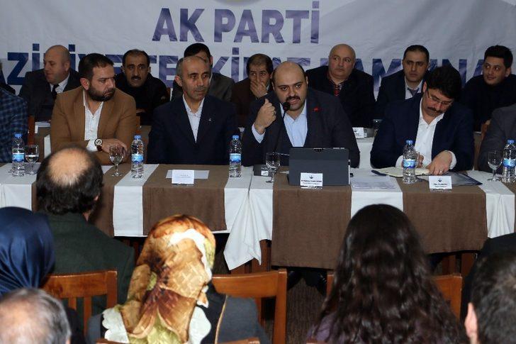 AK Parti Aziziye Teşkilat Kampı'nda birlik ve beraberlik vurgusu