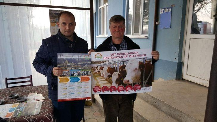 Babaeski'de kış dönemi çiftçi eğitim çalışmaları tamamlandı
