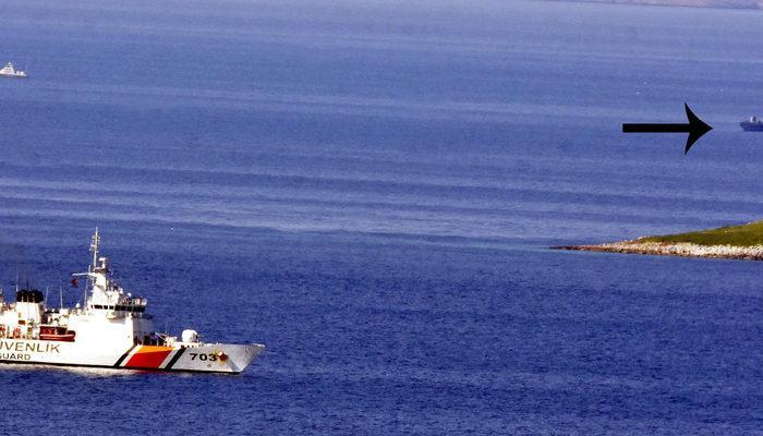 Kardak kayalıklarında gerginlik sürüyor! Yunan botu Türk botuna çarptı