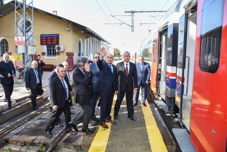 Vali Demirtaş Adana-Toprakkale hızlı tren projesini yerinde inceledi