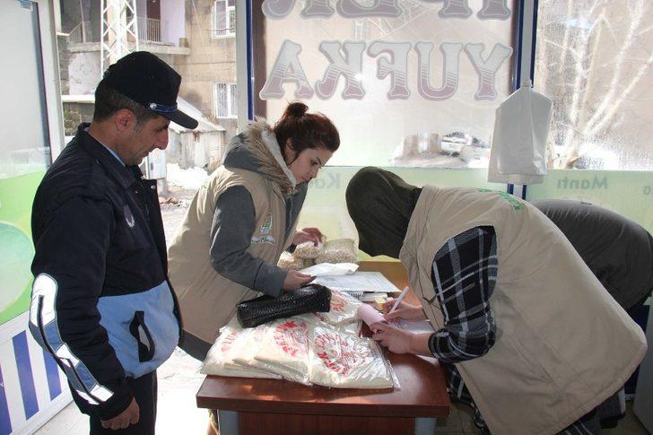 Bitlis'te pastane ve fırın denetimi