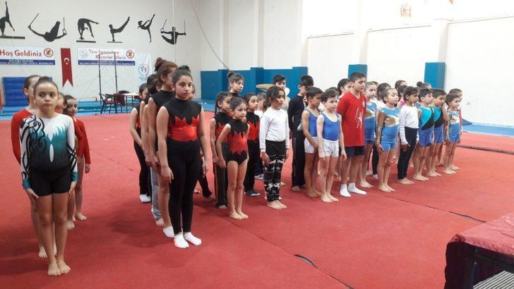 Okullar arası Jimnastik Müsabakalarında dereceye girenler belli oldu