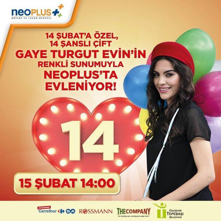 14 Şubat'a özel '14 Şanslı Çift' NeoPlus'ta evleniyor