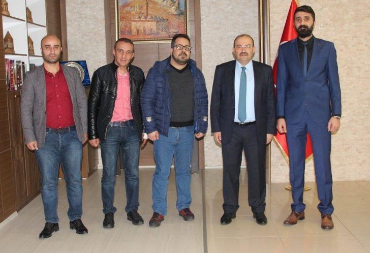 BİBACEM'den Vali Ustaoğlu'na ziyaret