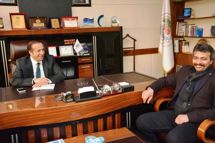 Dilovası MHP ilçe teşkilatı Başkan Toltar'ı ziyaret etti