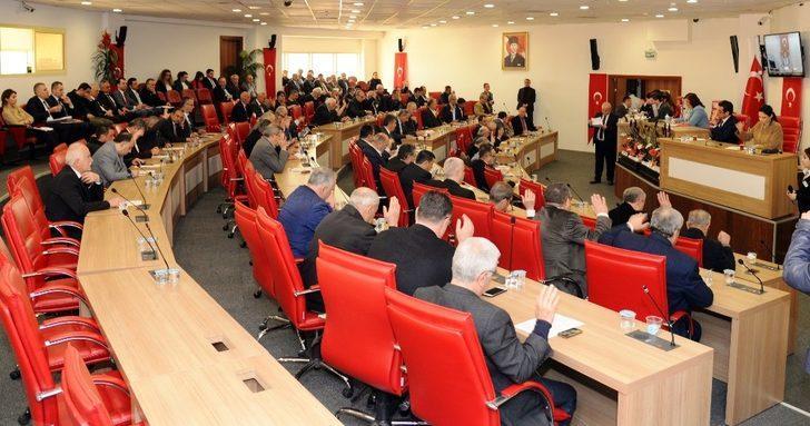 Aydın Büyükşehir Belediye Meclisi 'Zeytin Dalı'nı Ölümsüzleştirdi