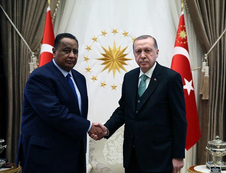 Erdogan reçoit le MAE soudanais