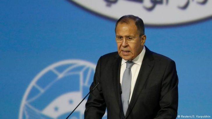Lavrov: ABD Suriye'de devlet benzeri yapı kurmak istiyor