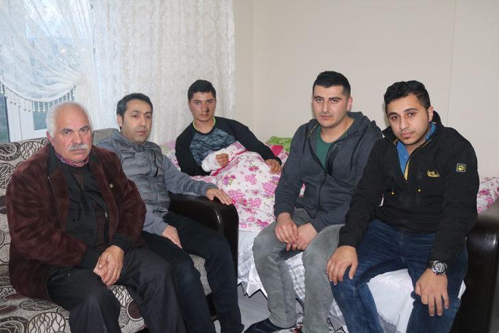 Afrin'de yaralanan sözleşmeli er Öztürk: İnşallah görevime döneceğim