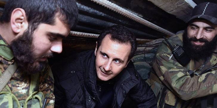 ABD'den dikkat çeken Esad raporu