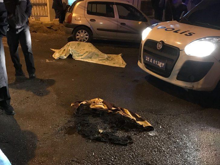 Sokak ortasında yanmış kadın cesedi bulundu