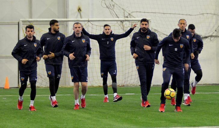 Kayserispor'da Antalyaspor mesaisi başladı