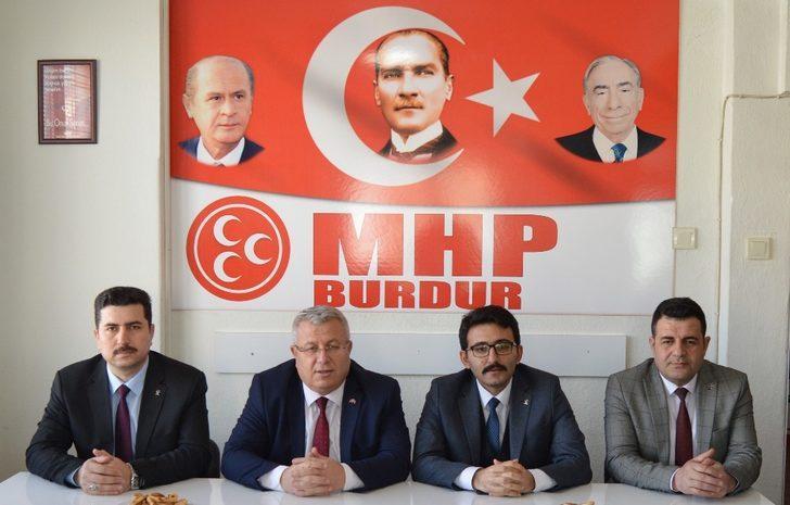 AK Parti'den MHP'ye ziyaret