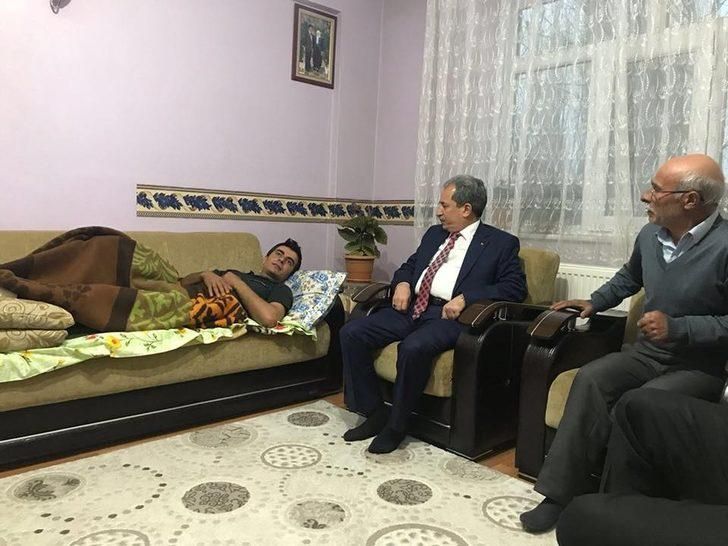Başkan Akkaya'dan Afrin Gazisine ziyaret