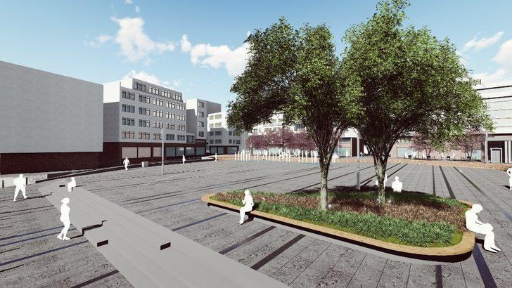 Fatsa Cumhuriyet Meydanı yıl sonuna kadar tamamlanacak