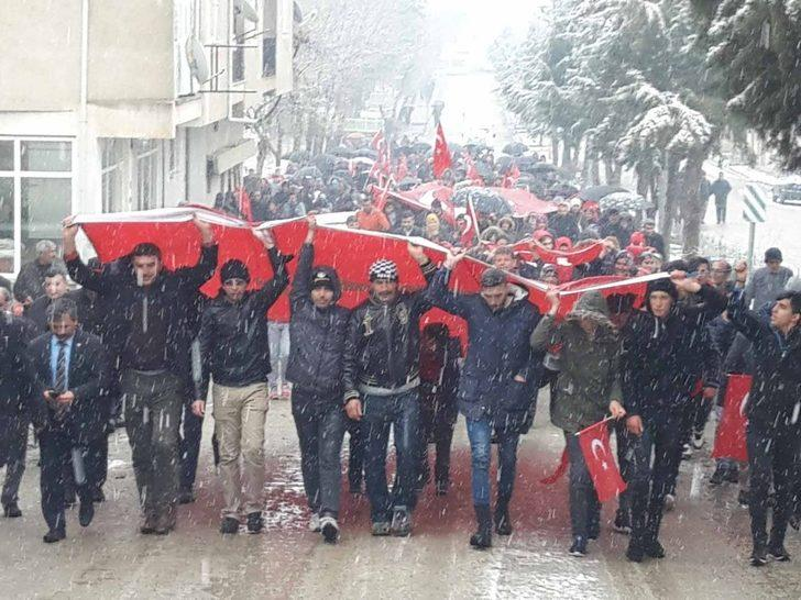 Pazarlar'da 'Tüm Anadolu ayaktayız, emperyalizme karşı savaştayız' mitingi