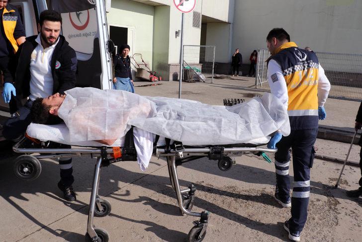Iraklı genç, eniştesi tarafından bıçakla ağır yaralandı