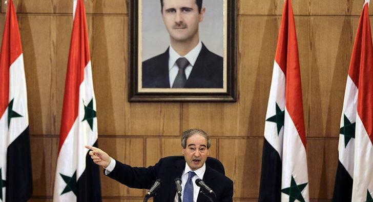Şam yönetimi açık açık tehdit etti:  Türk uçaklarını düşüreceğiz