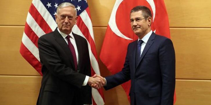 Milli Savunma Bakanı Canikli, Mattis ile görüştü