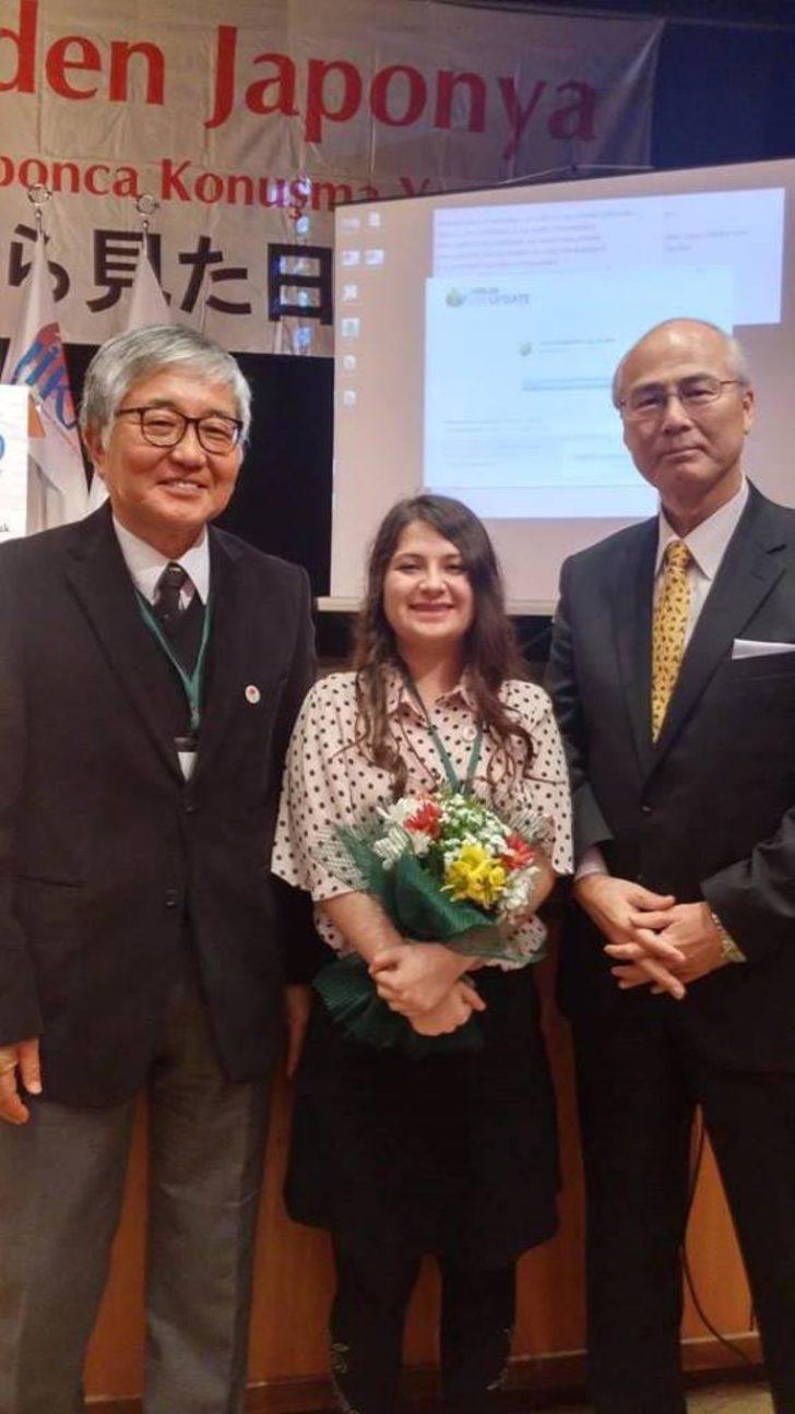 İnternette çalışarak öğrendiği Japonca'ya Japon Başkonsolos hayran kaldı
