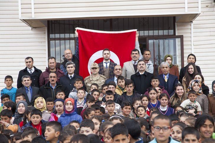 Öğrencilerden Afrin'e destek mektubu