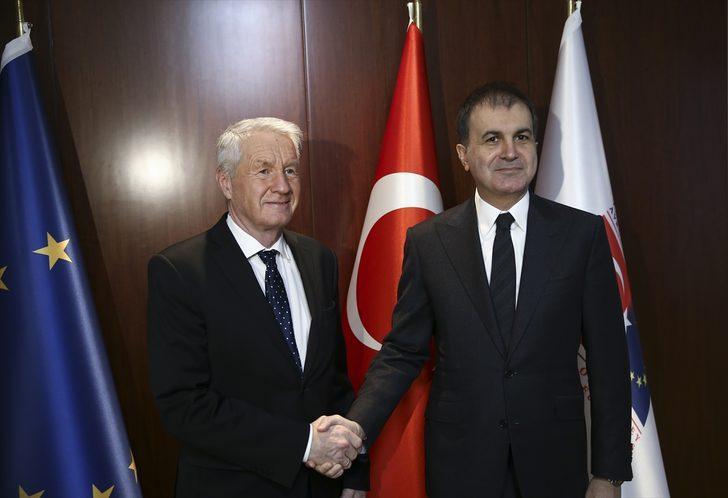 Turquie: Le ministre des Affaires de l'UE accueille le SG du Conseil de l'Europe