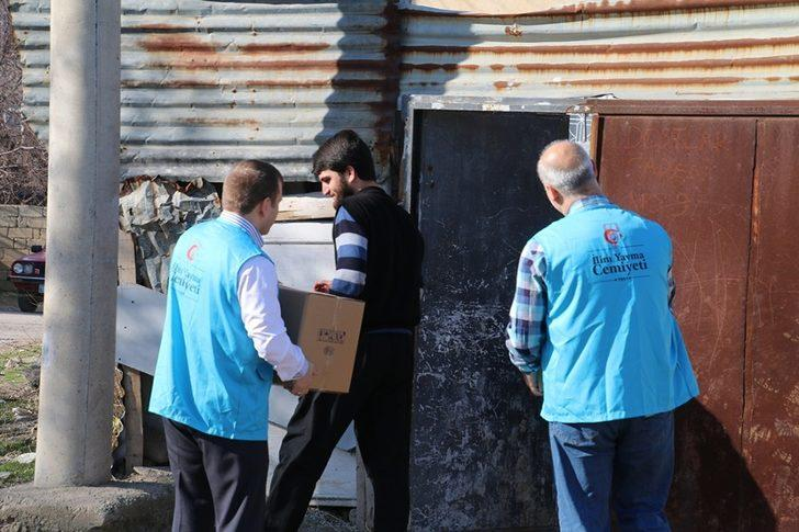 Elazığ'da 200 aileye yardım