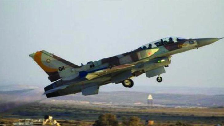 Suriye İsrail uçaklarına müdahale etti